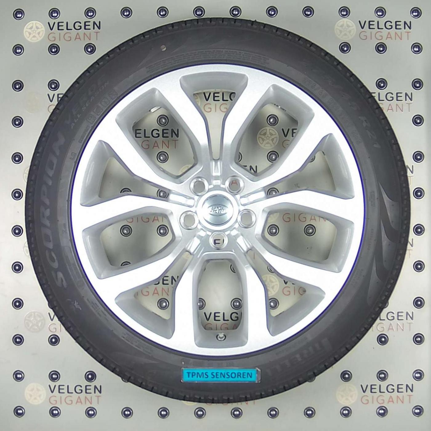 Nieuwe Discovery 5range Roverrange Rover Sport Velgen Met